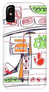 Abstract Pen Drawing Twenty-three IPhone Case