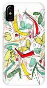 Abstract Pen Drawing Twenty-two IPhone Case