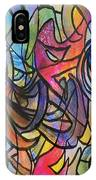 Abstract Pen IPhone Case