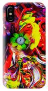 Abstract Perfection - Good Luck-holding It Firmly IPhone Case