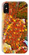 Abstract Petals IPhone Case
