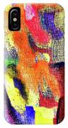 Abstract Poster IPhone Case