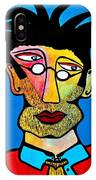 Abstract Professor IPhone Case