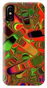 Abstract Rainbow Slider Explosion IPhone Case