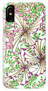 Abstract Red And Green Design #1 IPhone Case