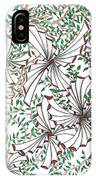 Abstract Red And Green Design  IPhone Case