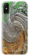 Abstract Reeds IPhone Case