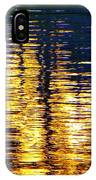 Abstract Reflection In Water 03 IPhone Case