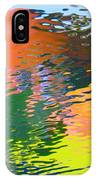 Abstract Reflection In Water 04 IPhone Case