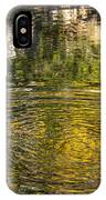Abstract River Reflection IPhone Case