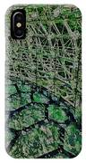 Abstract Shapes Stained Glass IPhone Case