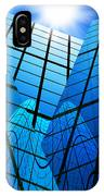 Abstract Skyscrapers IPhone Case