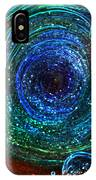 Abstract Space Art. Sparkling Antimatter IPhone Case