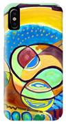 Abstract Space IPhone X Case