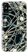 Abstract Sphere IPhone Case by Todd Blanchard