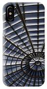 Abstract Spiderweb View Of A Central Tower Skylight At The World IPhone Case