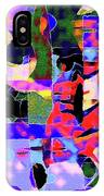 Abstract Sports Montage IPhone Case