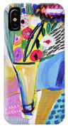 Abstract Still Life With Flowers IPhone X Case