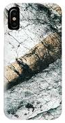 Abstract Surface Limestone With Rocks IPhone Case
