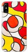 Abstract Swirls IPhone Case
