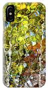 Abstract Tree Reflection IPhone Case