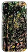Abstract Trees 691 IPhone Case