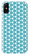 Abstract Turquoise Pattern 1 IPhone Case