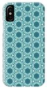 Abstract Turquoise Pattern 2 IPhone Case