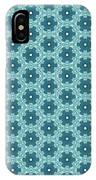 Abstract Turquoise Pattern 4 IPhone Case