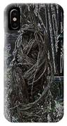 Abstract Twisted Tree IPhone Case
