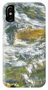 Abstract Water Art Vii IPhone Case