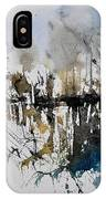 Abstract Watercolor 012130 IPhone Case