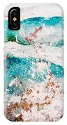 Abstract Waves Lbi IPhone Case
