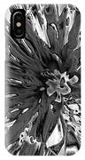 Abstract Wildflower 10 IPhone Case