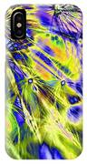 Abstract Wildflower 5 IPhone Case