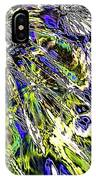 Abstract Wildflower 6 IPhone Case