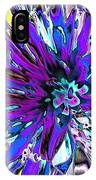 Abstract Wildflower 9 IPhone Case