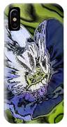 Abstract Wildflower IPhone Case