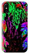 Abstract Wisteria IPhone Case