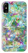 ract with Shapes and Squiggles IPhone Case