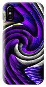 Abstracticalia Swirlia Tessalania Catus 1 No. 1 L B IPhone Case