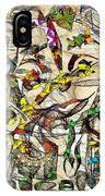 Abstraction 2049 IPhone Case