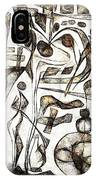 Abstraction 2217 IPhone Case