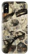 Abstraction 2322 IPhone Case