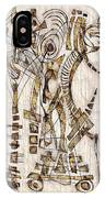 Abstraction 2567 IPhone Case