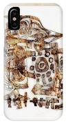 Abstraction 3055 IPhone Case