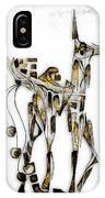 Abstraction 3091 IPhone Case