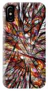 Abstraction 3098 IPhone Case