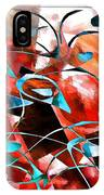 Abstraction 3422 IPhone Case
