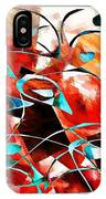 Abstraction 3423 IPhone Case